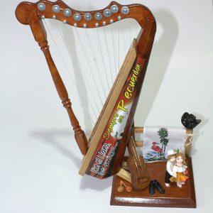Arpa pequeña en madera c44004 arte y artesanias colombianas 001_800_Arte_y_Artesanias_Bogota