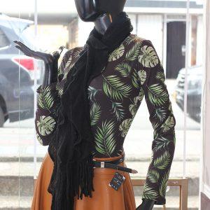 Bufanda pashmina dama negra c8016 arte y artesanias colombianas 002 _800_Arte_y_Artesanias_Bogota