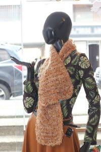 Bufanda tejido fino tonos tierra c8018 arte y artesanias colombianas 001 _800_Arte_y_Artesanias_Bogota