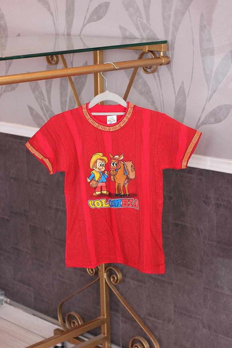 Camiseta niño color c21003 arte y artesanias colombianas 001 _800_Arte_y_Artesanias_Bogota
