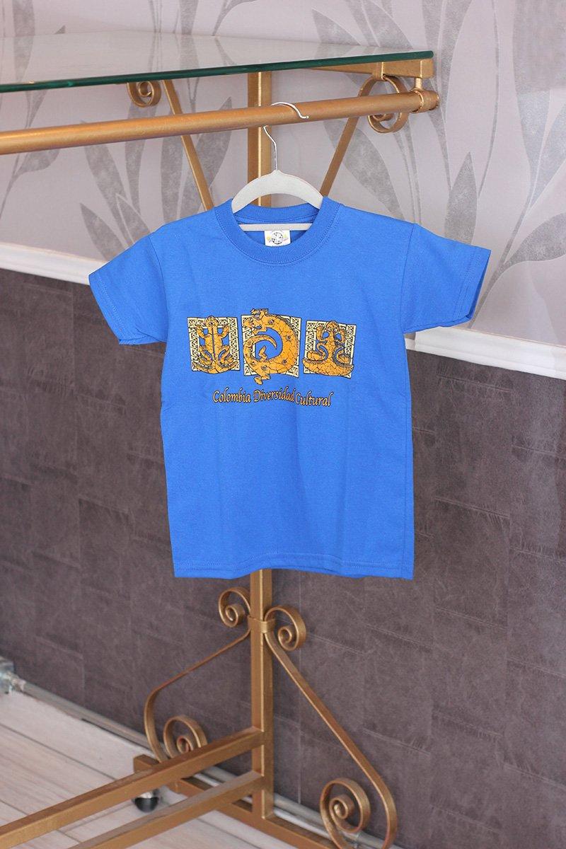 Camiseta niño color c21003 arte y artesanias colombianas 002 _800_Arte_y_Artesanias_Bogota