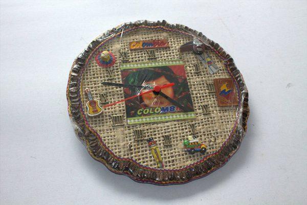 Reloj Colombia yute 1 arte y artesanias colombianas 001_800_Arte_y_Artesanias_Bogota