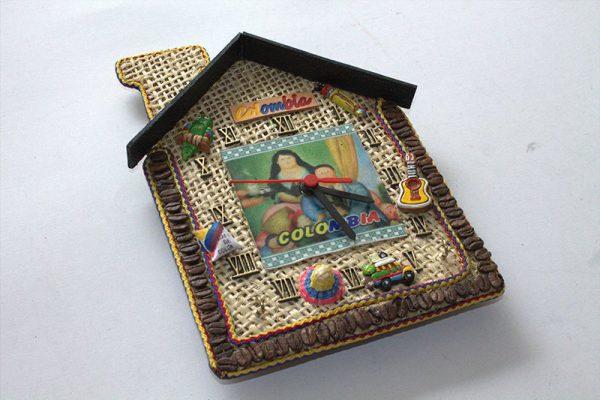 Reloj Colombia yute 1 arte y artesanias colombianas 002_800_Arte_y_Artesanias_Bogota