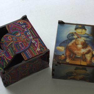 caja tacos arte y artesanias colombianas